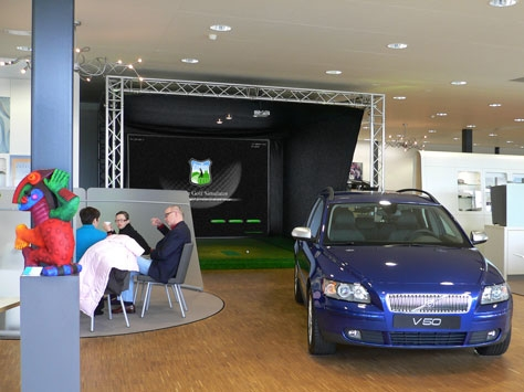 golfsimulator volvo dealer